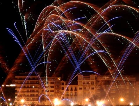 Concurso internacional fuegos artificiales san sebastian 2009