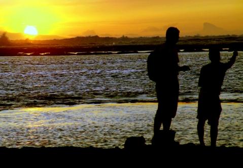 La playa del sol naciente (foto: José Luis Sandoval)