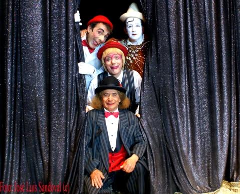 Foto Payasos Gran Circo Mundial, Canarias (Foto: José Luis Sandoval)