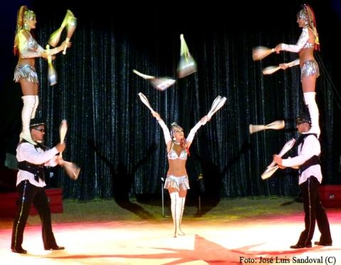 El Gran Circo Mundial en Maspalomas, Canarias (Foto: José Luis Sandoval)