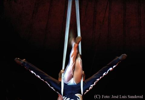El Gran Circo Mundial en Maspalomas, Canarias (Foto: José Luis Sandoval